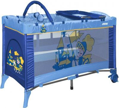 Кровать-манеж Bertoni Arena 2 Layers Plus (Blue Knight) - общий вид