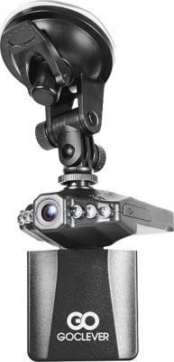 Автомобильный видеорегистратор GoClever DVR HD WIDE - общий вид с креплением