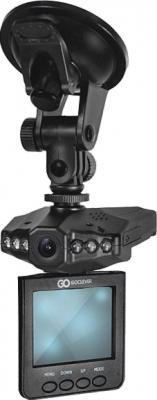 Автомобильный видеорегистратор GoClever DVR HD WIDE - дисплей с креплением