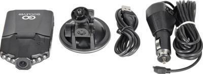 Автомобильный видеорегистратор GoClever DVR HD LITE - комплект
