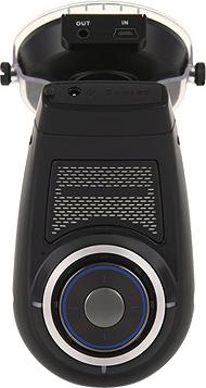 Автомобильный видеорегистратор Caidrox CD-5000 (2 канала) - вид сзади