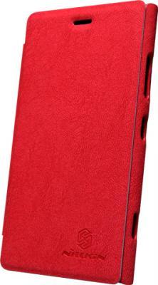 Чехол-флип для Nokia Lumia 920 Nillkin Tree Texture Red - общий вид