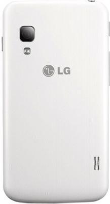 Смартфон LG E455 Optimus L5 II Dual White - задняя панель