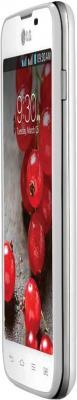 Смартфон LG E455 Optimus L5 II Dual White - вид сбоку