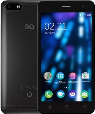 Смартфон BQ Strike BQS-5020 (черный)