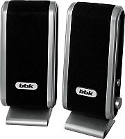 Мультимедиа акустика BBK CA-190S (черный/серебристый) -