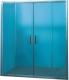 Стеклянная шторка для ванны Coliseum F-003-150 (матовое стекло) -
