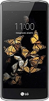Смартфон LG K8 K350E (черно-синий) -