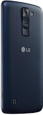 Смартфон LG K8 K350E (черно-синий)
