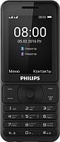 Мобильный телефон Philips Xenium E181 (черный) -