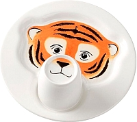 Набор столовой посуды Villeroy & Boch Animal Friends Тигр (2пр) -