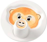 Набор столовой посуды Villeroy & Boch Animal Friends Обезьяна (2пр) -