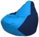 Бескаркасное кресло Flagman Груша Мини Г0.1-272 (голубой/темно-синий) -