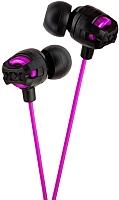 Наушники-гарнитура JVC HA-FR201-V (черный/фиолетовый) -