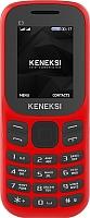 Мобильный телефон Keneksi E3 (красный) -