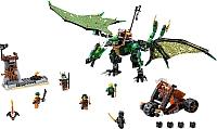 Конструктор Lego Ninjago Зеленый Дракон 70593 -