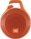 Портативная колонка JBL Clip Plus (оранжевый) -