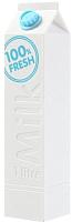 Портативное зарядное устройство Bradex Молочный заряд SU 0039 (белый) -