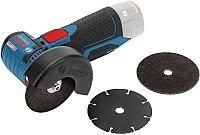 Профессиональная угловая шлифмашина Bosch GWS 10.8-76 V-EC Professional (0.601.9F2.000) -