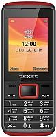 Мобильный телефон TeXet TM-214 (черный/красный) -