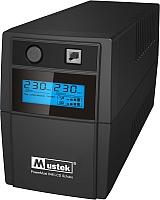 ИБП Mustek PowerMust 848 LCD (850VA), Schuko (98-LIC-L0848) -