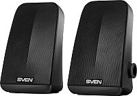 Мультимедиа акустика Sven 380 (черный) -