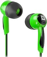 Наушники Defender Basic 604 / 63607 (черный/зеленый) -