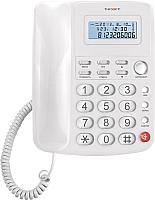 Проводной телефон TeXet TX-250 (белый) -