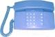Проводной телефон Мажор Сигно-201 (голубой) -