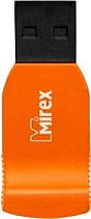 Usb flash накопитель Mirex Racer Orange 4GB / 13600-FMUORC04 -