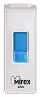 Usb flash накопитель Mirex Shot White 8GB / 13600-FMUWST08 -