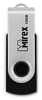 Usb flash накопитель Mirex Swivel Rubber Black 16GB (13600-FMURUS16) -