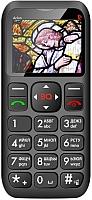 Мобильный телефон BQ Arlon BQM-1802 (черный/красный) -