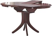 Обеденный стол Halmar Leroy (античная черешня) -