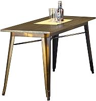 Обеденный стол Halmar Magnum прямоугольный (медь) -
