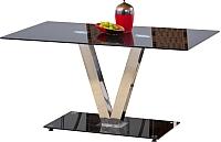 Обеденный стол Halmar Velvet (черный) -