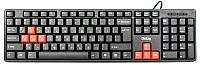 Клавиатура Dialog KS-030U (черный/красный) -