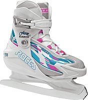 Коньки ледовые Roces Fuzzy 3 Girl 450671 (размер 30-35) -