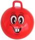 Фитбол с ручкой NoBrand F1307 (красный) -