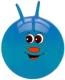 Фитбол с рожками NoBrand F1308 (синий) -