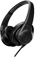 Наушники-гарнитура Audio-Technica ATH-AX3iS BK -