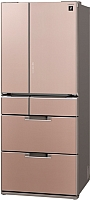 Холодильник с морозильником Sharp SJ-GF60AT -