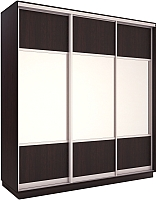 Шкаф Евва 212 VS.01 / АЭП ШК.3 02 (венге/серебро) -