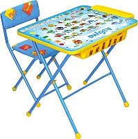 Стол+стул Ника КУ2П/9 Азбука -