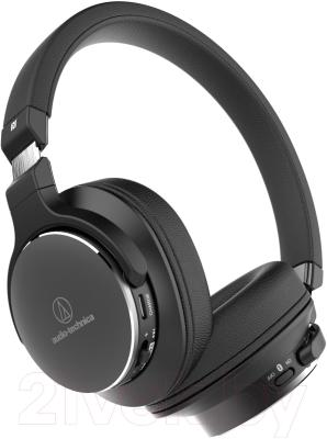 Наушники-гарнитура Audio-Technica ATH-SR5BT BK