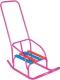 Санки детские Скользяшки Кукольные-1 (розовый) -
