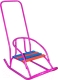 Санки детские Скользяшки Кукольные-2 (фиолетовый) -