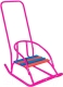 Санки детские Скользяшки Кукольные-2 (розовый) -