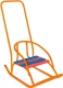 Санки детские Скользяшки Кукольные-2 (оранжевый) -