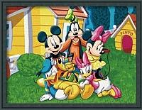 Картина по номерам Menglei В гостях у Плуто (ME025) -